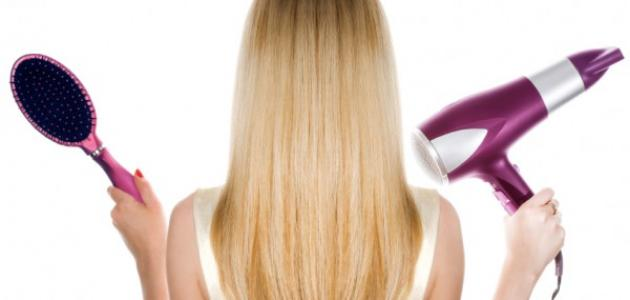 صورة جديد طريقة سشوار الشعر بنفسك