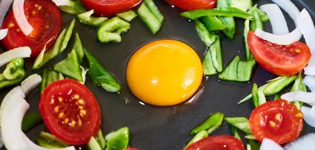 صورة جديد طريقة عمل بيض مع بندورة