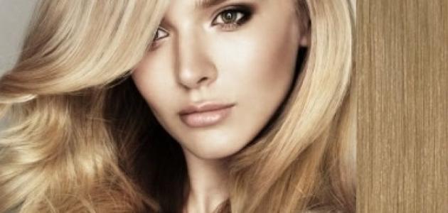 صورة جديد طريقة صبغ الشعر أشقر رمادي فاتح