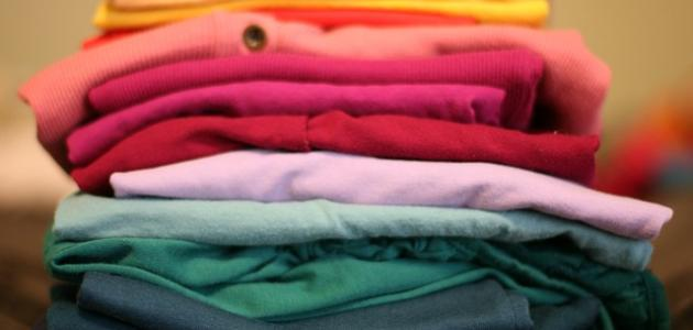 صورة جديد طريقة غسل الملابس القطنية الملونة