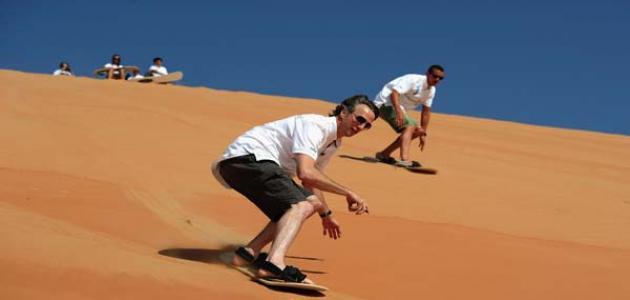 صورة جديد التزلج على الرمال