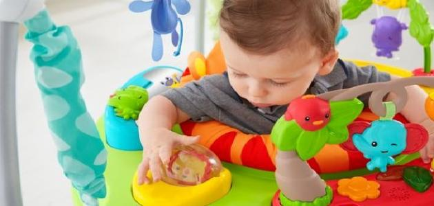 صورة جديد كيف تطورين مهارات طفلك الحركية