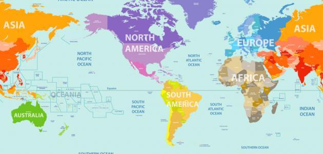 صورة جديد كم عدد قارات العالم