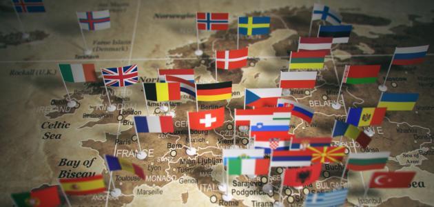 صورة جديد دول أوروبا وعواصمها
