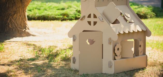 صورة جديد كيف تصنع بيتاً من الكرتون