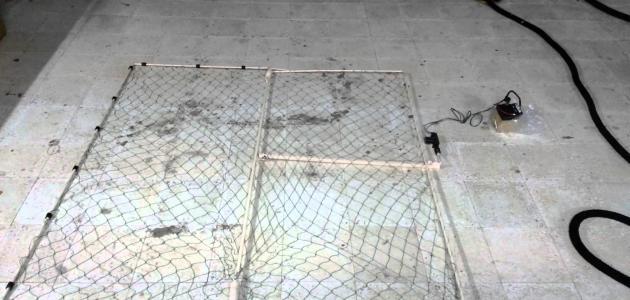 صورة جديد كيف تصنع شبكة صيد الحمام
