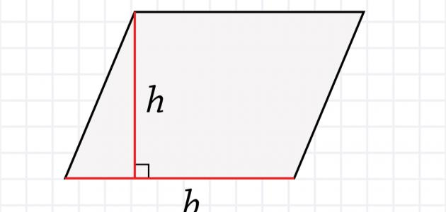 صورة جديد قانون حساب مساحة المعين