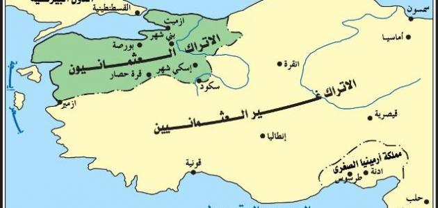 صورة جديد تاريخ الدولة العثمانية