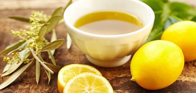 صورة جديد فوائد عصير الليمون مع زيت الزيتون