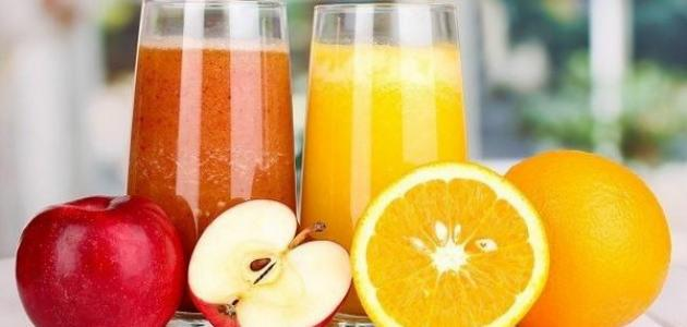 صورة جديد فوائد عصير البرتقال والتفاح