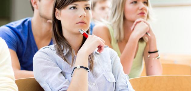 صورة جديد كيف تكونين مجتهدة في الصف