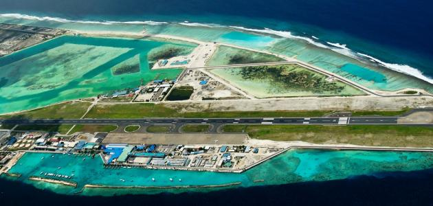 صورة جديد اسم مطار جزر المالديف