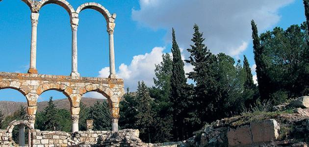 صورة جديد آثار لبنان