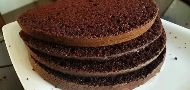 صورة جديد صنع كعكة الشوكولاتة