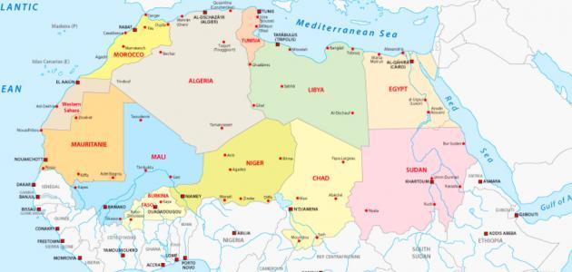 صورة جديد ما هي دول شمال أفريقيا