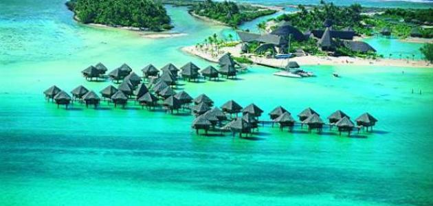 صورة جديد أين توجد جزر بورا بورا