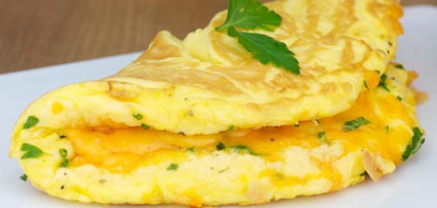 صورة جديد طريقة عمل أومليت البيض بالجبن