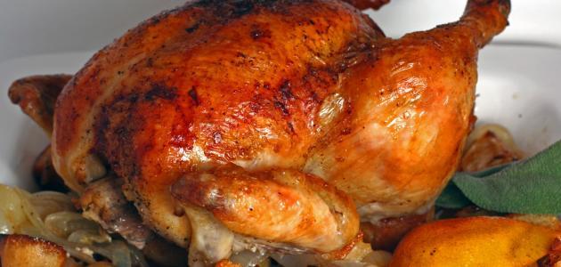 صورة جديد طريقة تحضير الدجاج المحمر المغربي