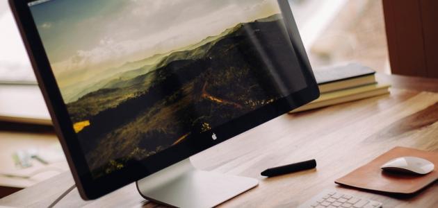 صورة جديد كيفية تكبير شاشة الكمبيوتر
