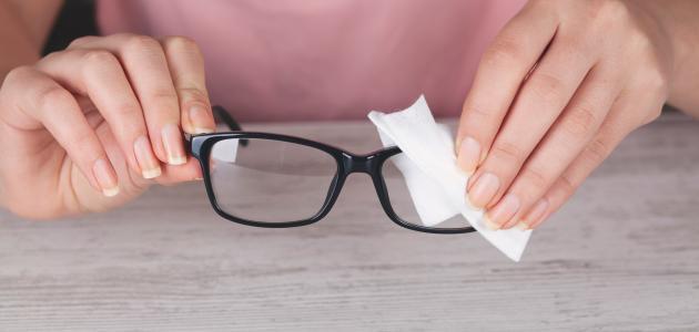 صورة جديد كيف أنظف نظارتي