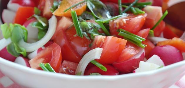 صورة جديد طريقة عمل سلطة الطماطم الحارة
