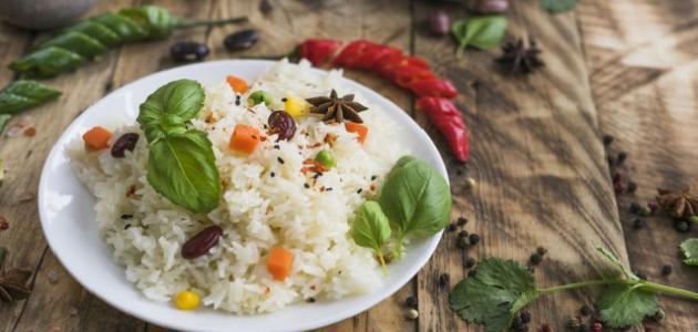 صورة جديد كيفية عمل الأرز الأبيض