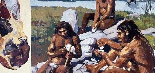 صورة جديد كيف عاش الإنسان في العصر الحجري القديم