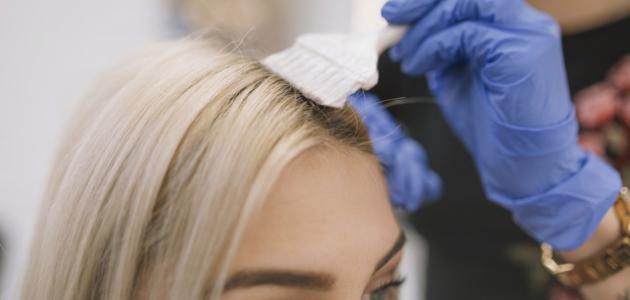 صورة جديد طريقة صبغ الشعر رمادي بالبيت