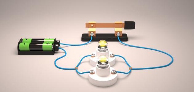 صورة جديد مكونات الدائرة الكهربائية