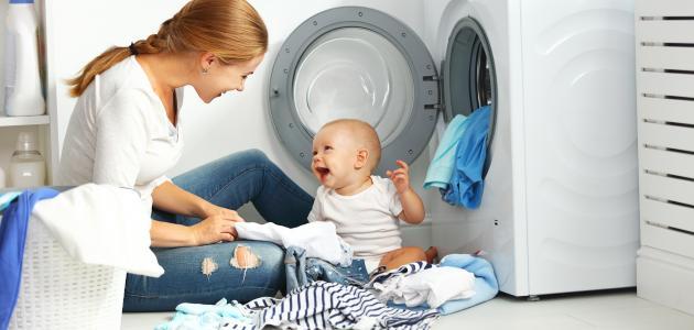 صورة جديد كيف أغسل ملابس البيبي