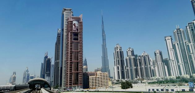 صورة جديد ما هي مساحة برج خليفة