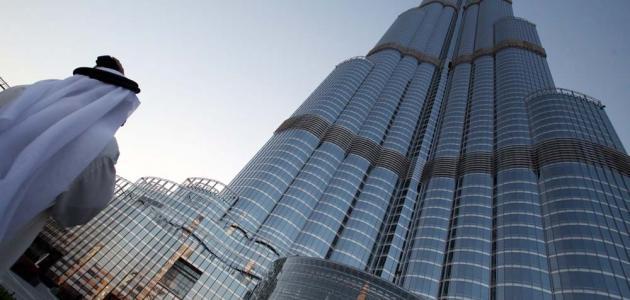 صورة جديد كيف بني برج خليفة