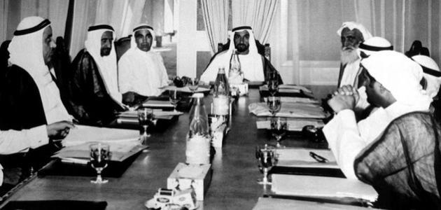 صورة جديد قيام اتحاد دولة الإمارات