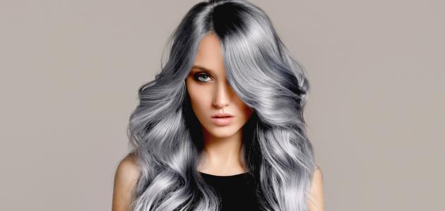 صورة جديد كيفية صبغ الشعر باللون الرمادي
