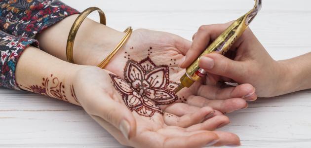 صورة جديد كيفية عمل حنة الرسم