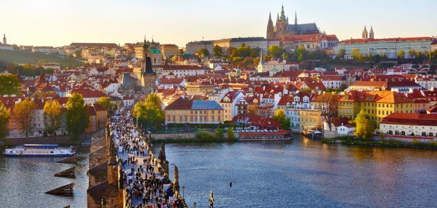 صورة جديد أين تقع مدينة براغ