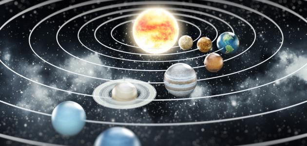 صورة جديد حركة الكواكب حول الشمس
