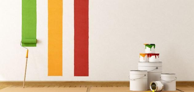 صورة جديد طريقة دهان الحائط