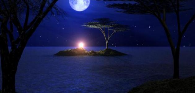 صورة جديد كلام عن هدوء الليل