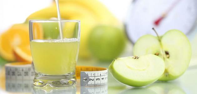 صورة جديد فوائد عصير التفاح الأخضر للتخسيس
