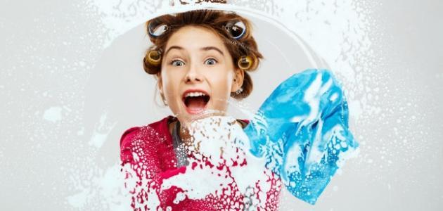 صورة جديد طريقة تنظيف الزجاج والمرايا