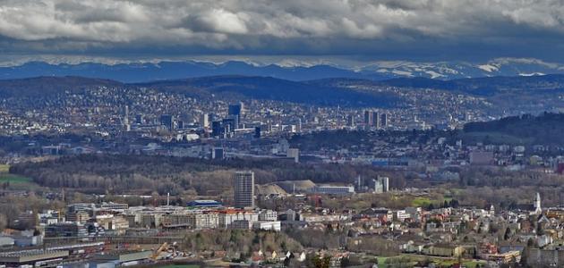 صورة جديد أكبر مدينة في سويسرا
