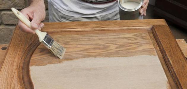 صورة جديد كيفية دهان الخشب