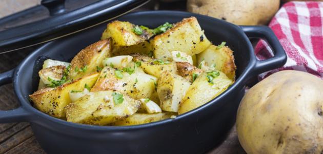 صورة جديد كيفية شوي البطاطس في الفرن