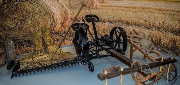 صورة جديد أدوات الزراعة قديماً وحديثاً