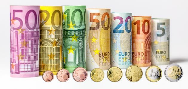 صورة ما هي فئات اليورو