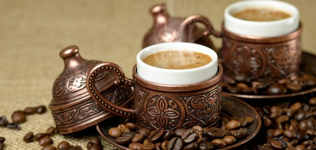 صورة طريقة عمل قهوة تركية