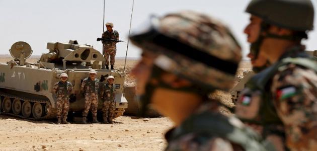 صورة عدد أفراد الجيش الأردني