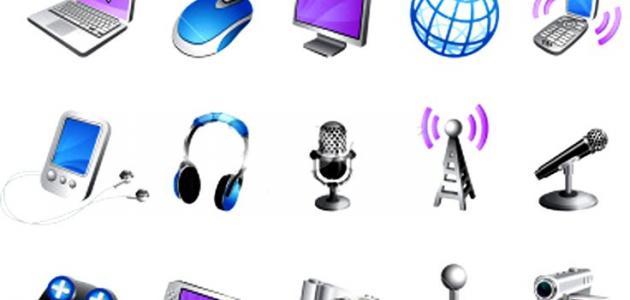 صورة أنواع وسائل الاتصال