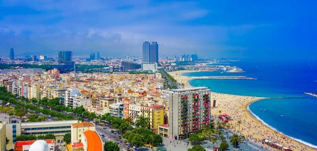 صورة مدينة برشلونة الإسبانية